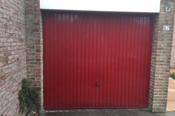 openslaande houten garagedeuren Kampen vooraf