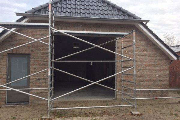 openslaande houten garagedeuren Nijverdal type Badings