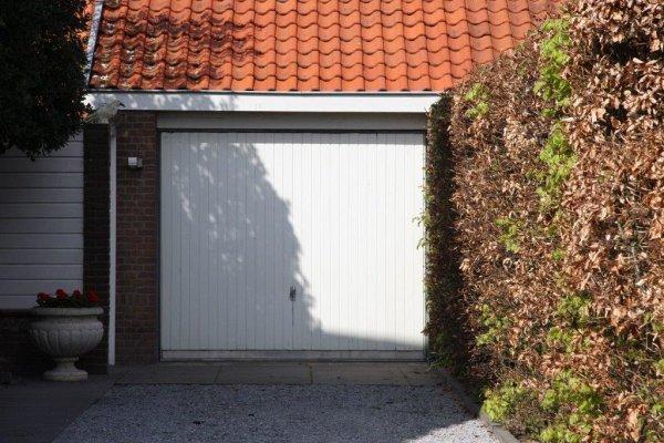 openslaande houten garagedeuren Haarlem vooraf