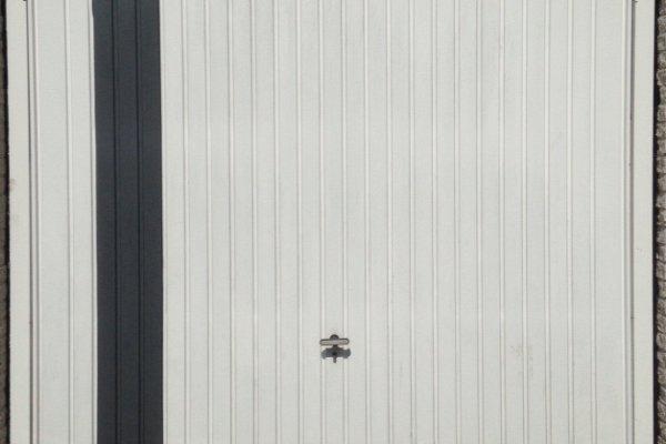 openslaande houten garagedeuren Leusden vooraf
