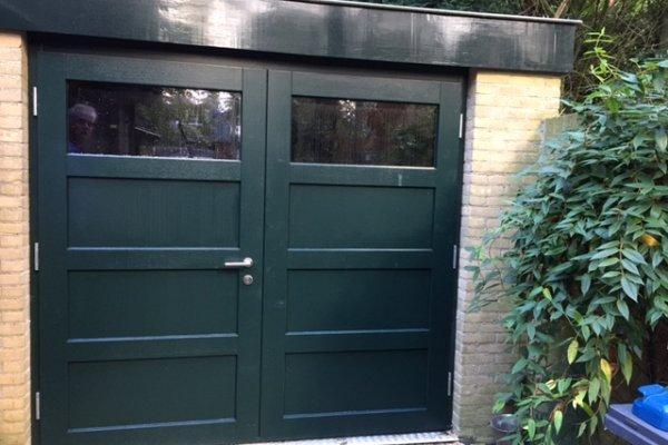 houten garagedeuren Driebergen type Bartok